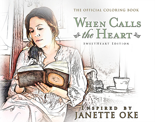 When Calls the Heart Coloring Book - Poster