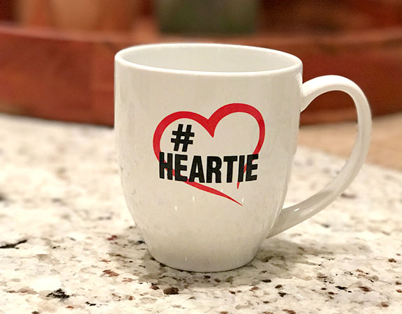 #Heartie - Coffee Cup - Poster