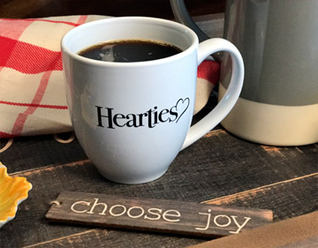 Hearties - Official - Coffee Cup - Poster