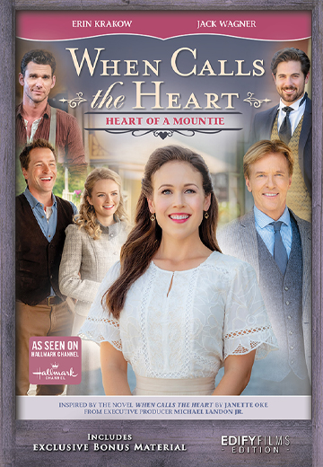 Heart of a Mountie - Poster
