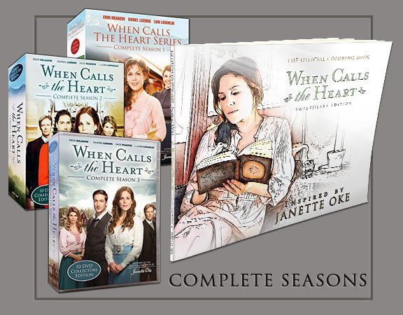 Seasons 1, 2, 3 Box Set Bundle and Coloring Book Poster
