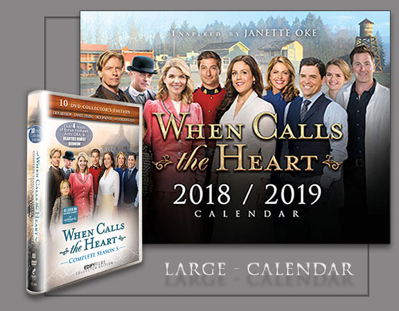 Season 5 Box Set and Large Calendar - Poster
