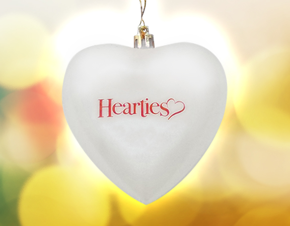 The Official Hearties Ornament - Poster