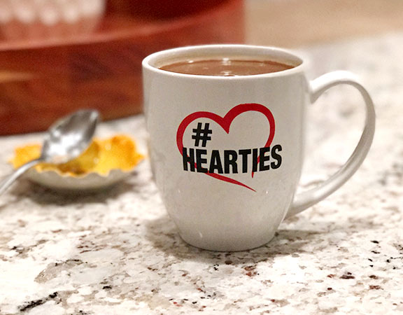 #Hearties - Coffee Cup - Poster