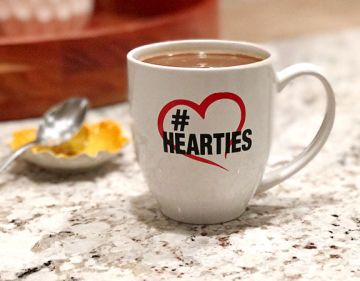 Hearties - Coffee Cup