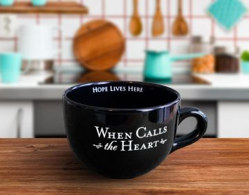 20oz. Large Coffee Cup - WCTH - BLACK