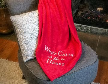 Blanket - WCTH - Red